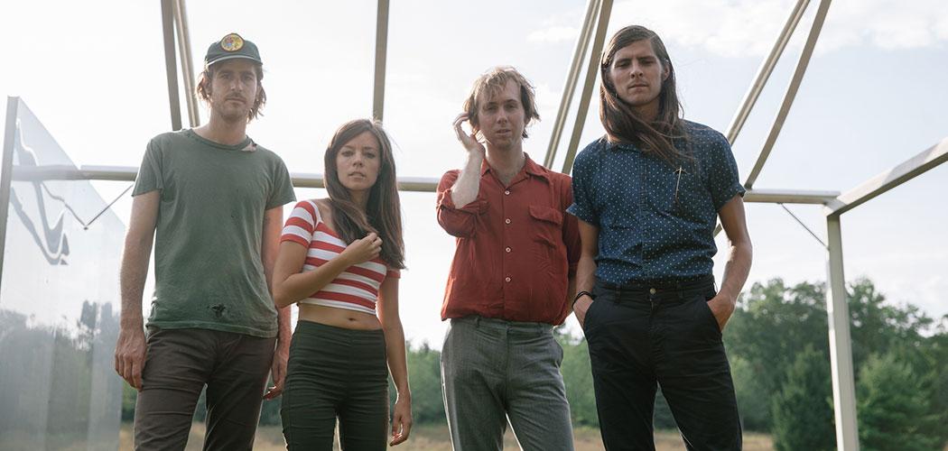 Quilt is (from left) John Andrews, Anna Fox Rochinski, Shane Butler and Keven Lareau. (Daniel Dorsa)