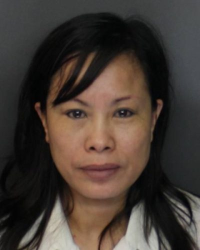 A booking photo of 44-year-old Xiao Ying Zhou, of Sandwich. (Suffolk County district attorney's office)