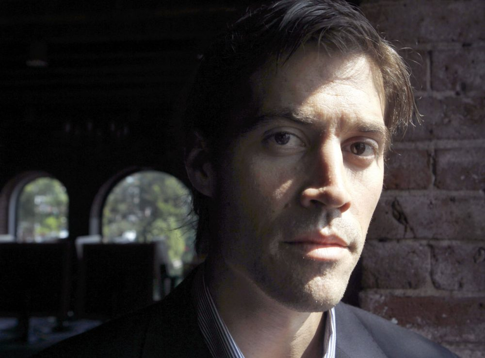 Journalist James Foley of Rochester, N.H. poses for a photo in Boston. (AP Photo/Steven Senne, File)