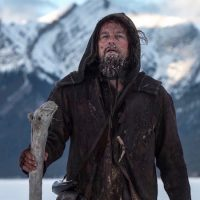 """Leonardo DiCaprio is nominated for Best Actor for his role in """"The Revenant,"""" which is also one of the four Best Picture nominees based on true events. (Photo courtesy 20th Century Fox.)"""