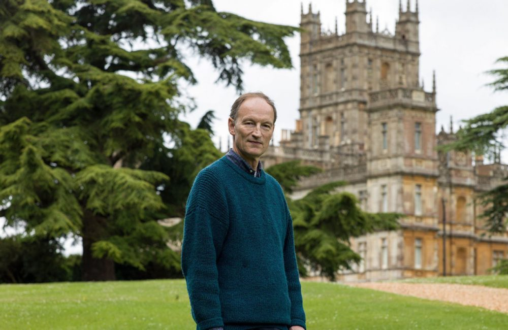 """Alastair Bruce is historical adviser to """"Downton Abbey."""" (PBS)"""