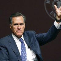 Former GOP presidential candidate Mitt Romney pictured in Starkville, Miss., Wednesday, Jan. 28, 2015. (Rogelio V. Solis/AP)