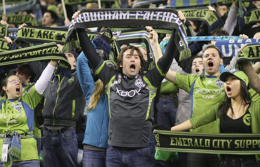 Last season, the MLS' Seattle Sounders had a league-best average attendance of 44,247. (Otto Greule Jr/Getty Images)