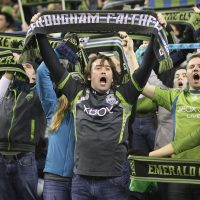Last season, the MLS' Seattle Sounders had a league-best average attendance of 44,247. (Otto Greule Jr/Getty Images)
