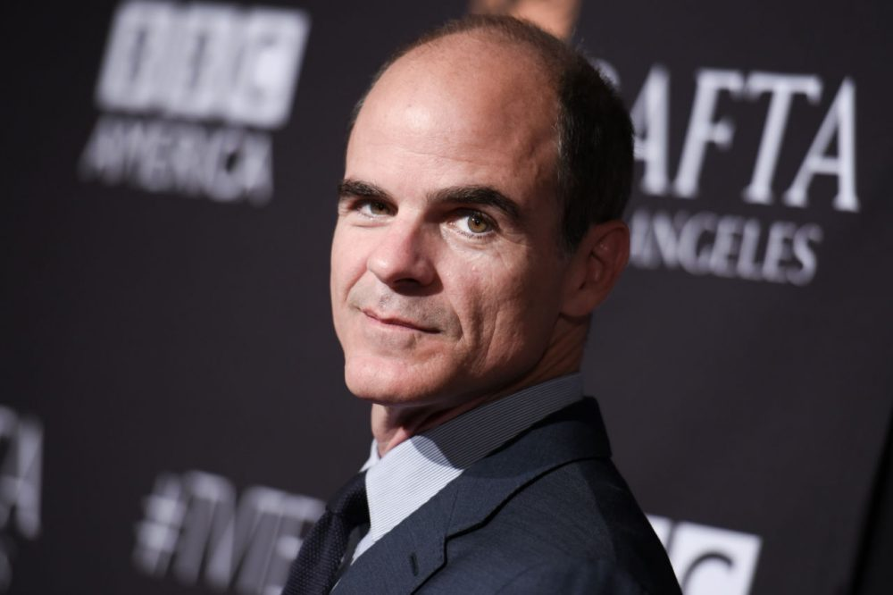 Actor Michael Kelly arrives at the BAFTA Los Angeles TV Tea at SLS Hotel on Saturday, Sept. 19, 2015, in Los Angeles. (Richard Shotwell/Invision/AP)