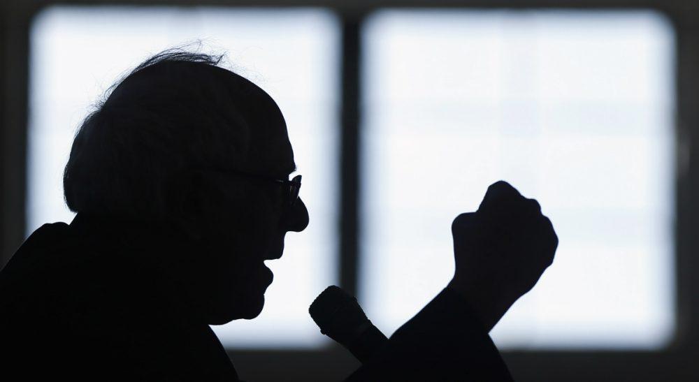 In this Jan. 21, 2016, file photo, Democratic presidential candidate, Sen. Bernie Sanders, I-Vt., speaks during a campaign stop in Peterborough, N.H. (Matt Rourke/AP)