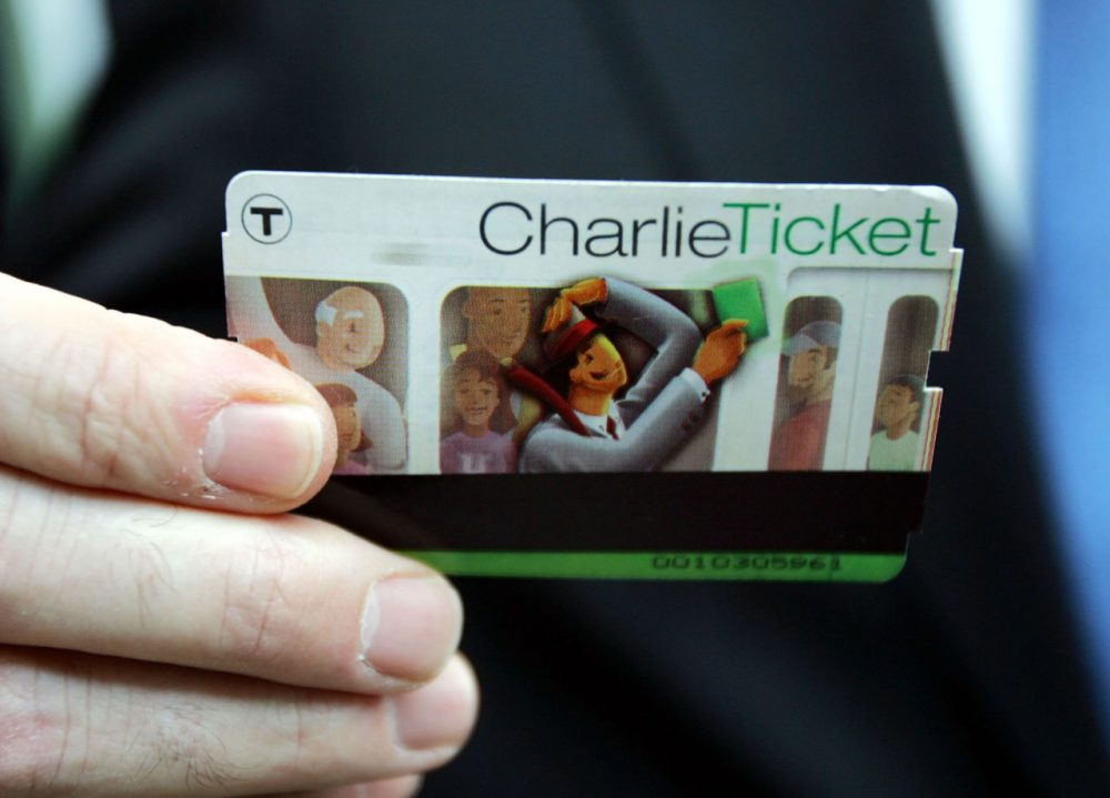 A CharlieTicket is displayed. (Chitose Suzuki/AP)