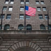Hackers sent nearly three dozen requests to the Federal Reserve Bank of New York to move money from the Bangladesh bank's account there. The hackers got away with more than $80 million.   (Andrew Burton/Getty Images)