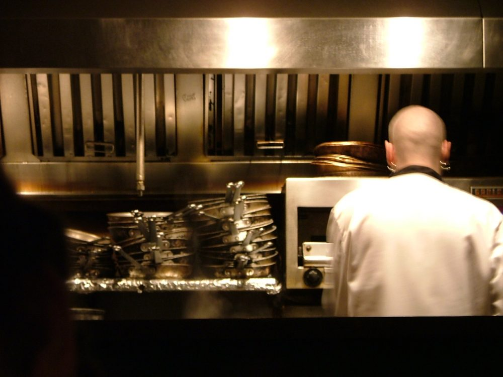 There's a serious shortage of line and prep cooks in Boston, and it's having an impact on the city's rapidly expanding restaurant scene. (George Oates/Flickr)