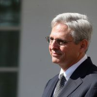 U.S. Court of Appeals for the District of Columbia Circuit Judge Merrick B. Garland is President Obama's nominee to replace the late Supreme Court Justice Antonin Scalia. He's pictured in the Rose Garden at the White House March 16, 2016 in Washington, D.C. (Mark Wilson/Getty Images)