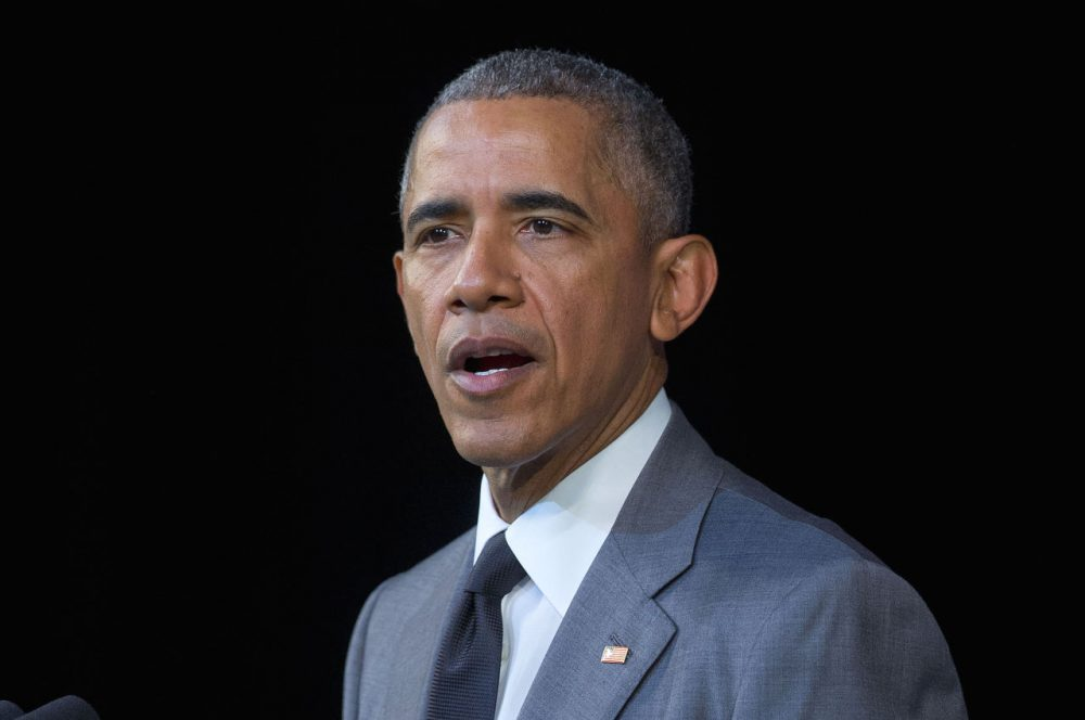 President Barack Obama speaks about the events in Brussels attack before addressing Cubans at El Gran Teatro de Havana, Tuesday, March 22, 2016, in Havana, Cuba. (Pablo Martinez Monsivais/AP)