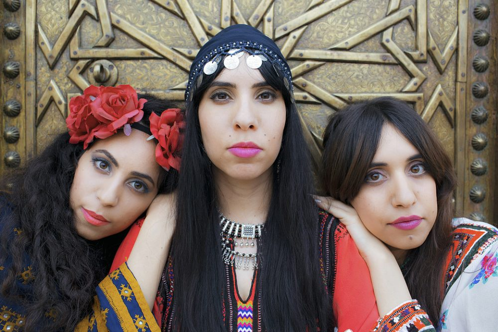 Tair,Tagel and Liron Haim, the sisters who make up the band Yemenite-Israeli band A-Wa. (Courtesy A-Wa)