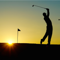 Is the sun setting on golf's popularity? The National Golf Foundation's latest report shows plenty of people are trying golf for the first time, but few are sticking with it. (Pixabay)