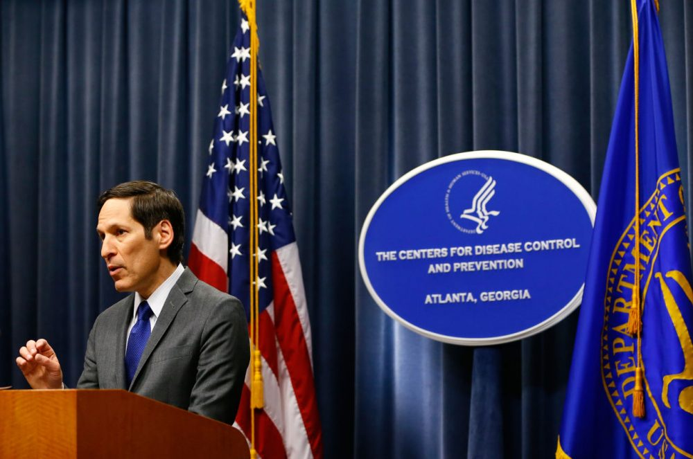Tom Frieden, director of Centers for Disease Control and Prevention, is pictured on October 5, 2014 in Atlanta, Georgia. (Kevin C. Cox/Getty Images)