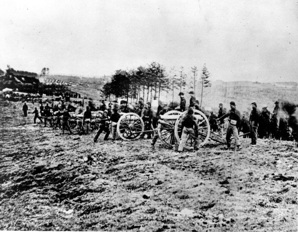 Among the many casualties in the Battle of Fredericksburg in 1862 were 158 Irish soldiers from Massachusetts under the command of Thomas Francis Meagher. (Mathew B. Brady/AP Photo)