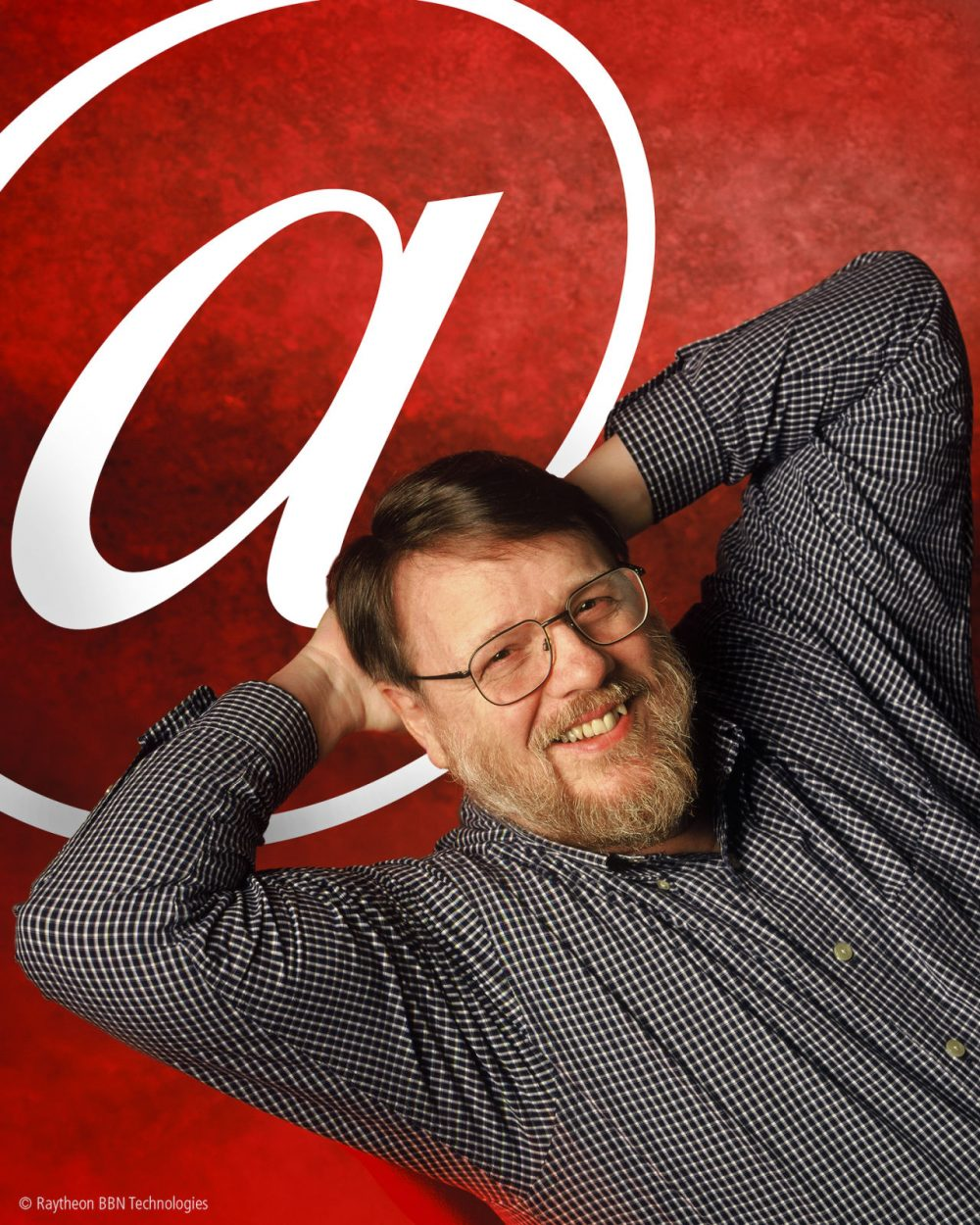 """Ray Tomlinson, the inventor of email and the selector of the """"@"""" symbol, died Saturday. He was 74. (Raytheon/Internet Hall of Fame/AP)"""