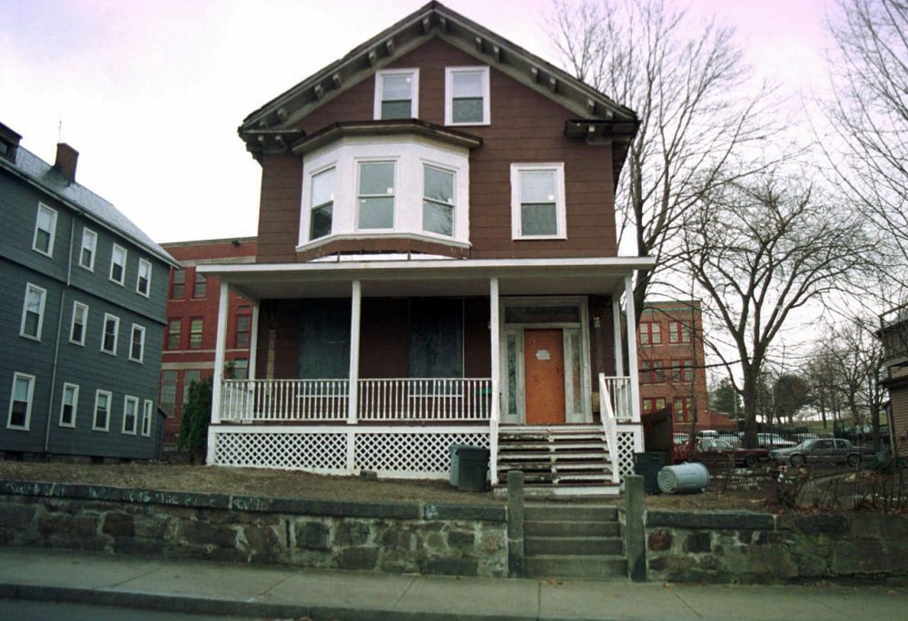 The Roxbury house where African-American leader Malcolm X spent part of his childhood.  (Angela Rowlings/AP)