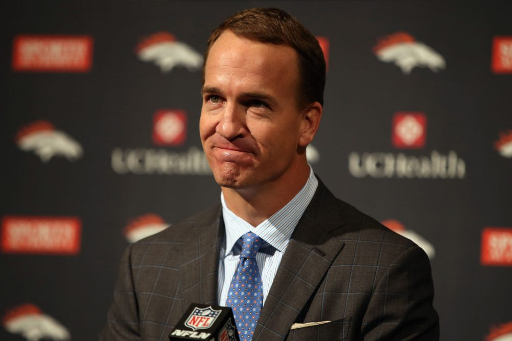 Just weeks winning Super Bowl 50, Denver Broncos quarterback Peyton Manning announced his retirement Monday. (Doug Pensinger/Getty Images)