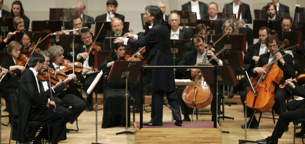 Kent Nagano, conducts the Montreal Symphony Orchestra during the opening concert of their Japan tour at Musashino Civic Cultural Hall. (Koji Sasahara/AP)