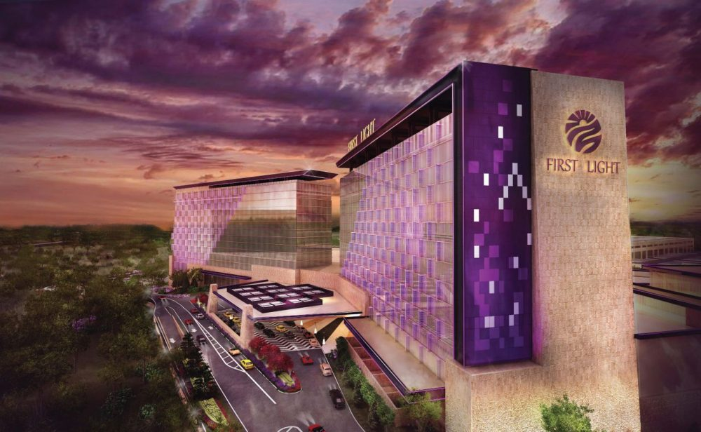 A rendering of the Mashpee Wampanoag's proposed resort casino in Taunton. (Courtesy)