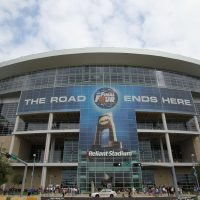 This year's Final Four teams will square off in front of 76,000 fans at Houston's NRG Stadium. The venue, formerly known as Reliant Stadium, was also home to the 2011 Final Four. Some basketball purists say domed venues are bad for the game. (Photo by Ronald Martinez/Getty Images)