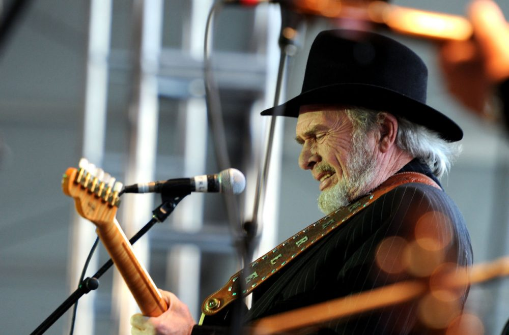 Country icon Merle Haggard died today, Wednesday April 6, 2016. It was his 79th birthday. He is pictured here, performing at Stagecoach: California's Country Music Festival in 2010. (Frazer Harrison/Getty Images)