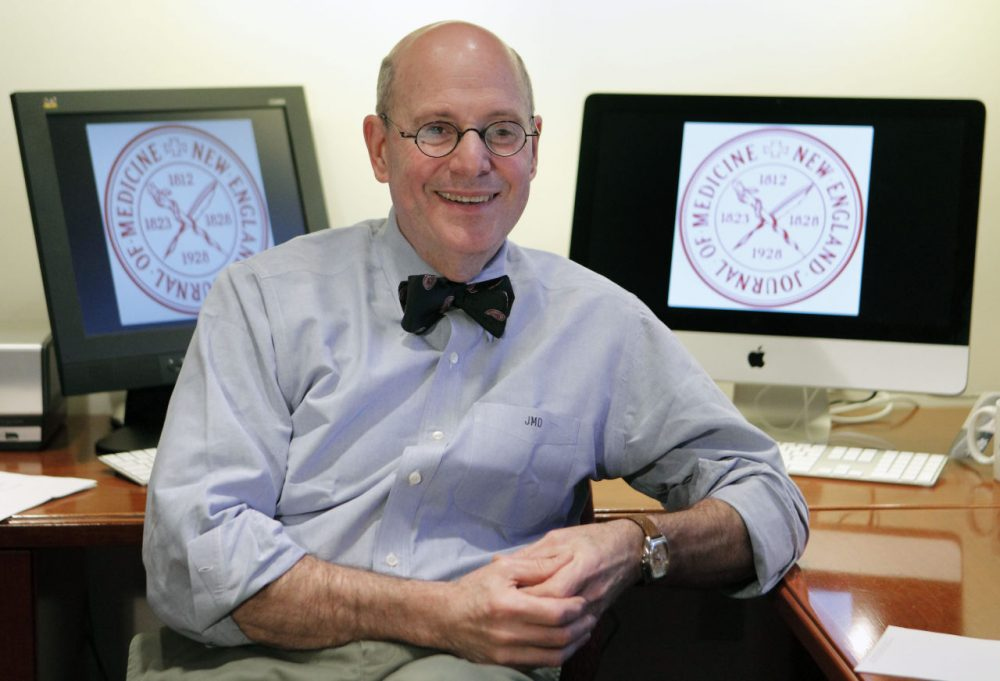 Editor-in-chief of the New England Journal of Medicine, Dr. Jeffrey M. Drazen. (Michael Dwyer/AP)