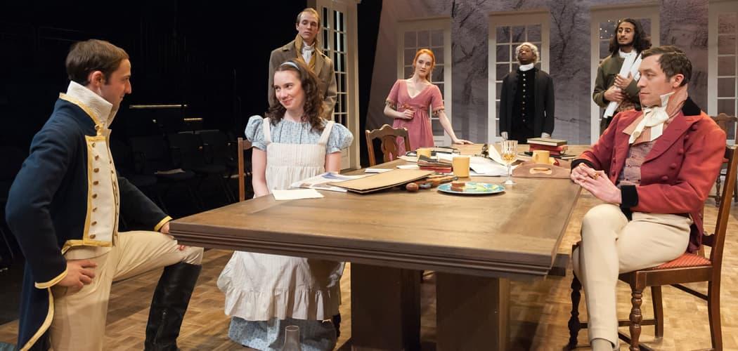 "The cast of ""Arcadia."" (Courtesy A.R. Sinclair Photography)"