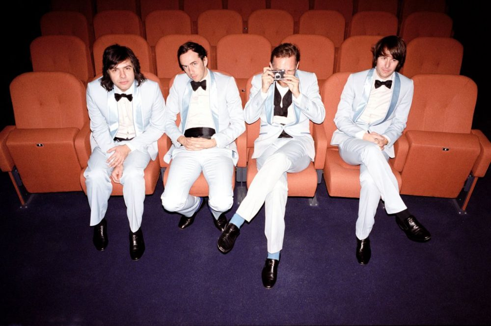 Aquazul is the fake band of the actual Belgian band Soulwax. (Soulwax)
