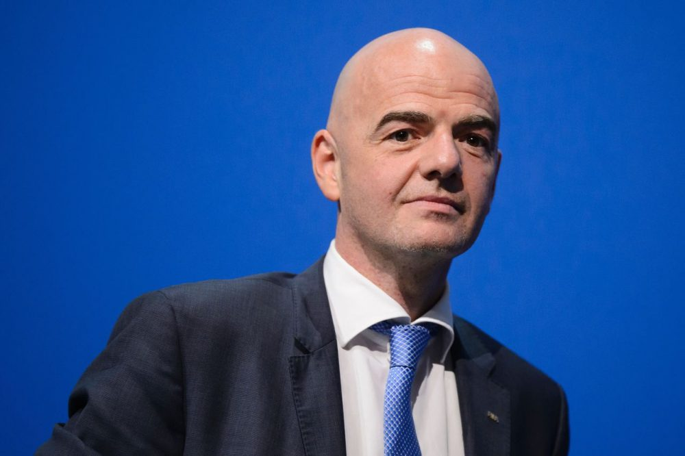 FIFA president Gianni Infantino has expressed dismay over the Trump administration's latest travel ban. (Fabrice Coffrini/AFP/Getty Images)