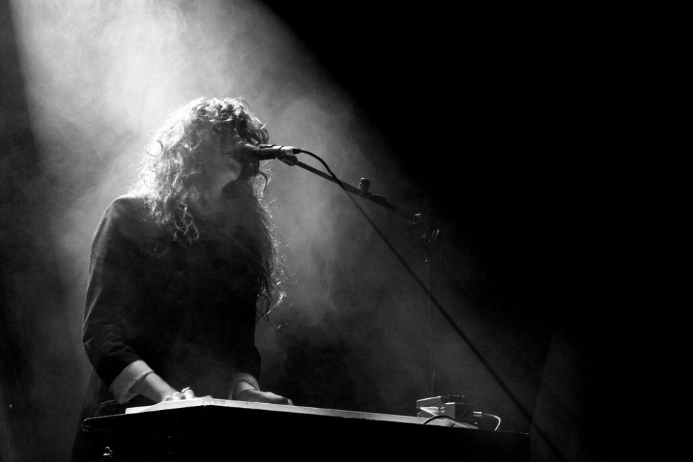 Victoria Legrand of Beach House at Vicar Street, Dublin on November 22 2010 (Redheadwalking/Flickr)