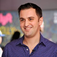Lyft co-founder John Zimmer attends the Lyft driver rally at Siren Studios on January 27, 2015 in Hollywood, California.  (John Sciulli/Getty Images for Lyft)