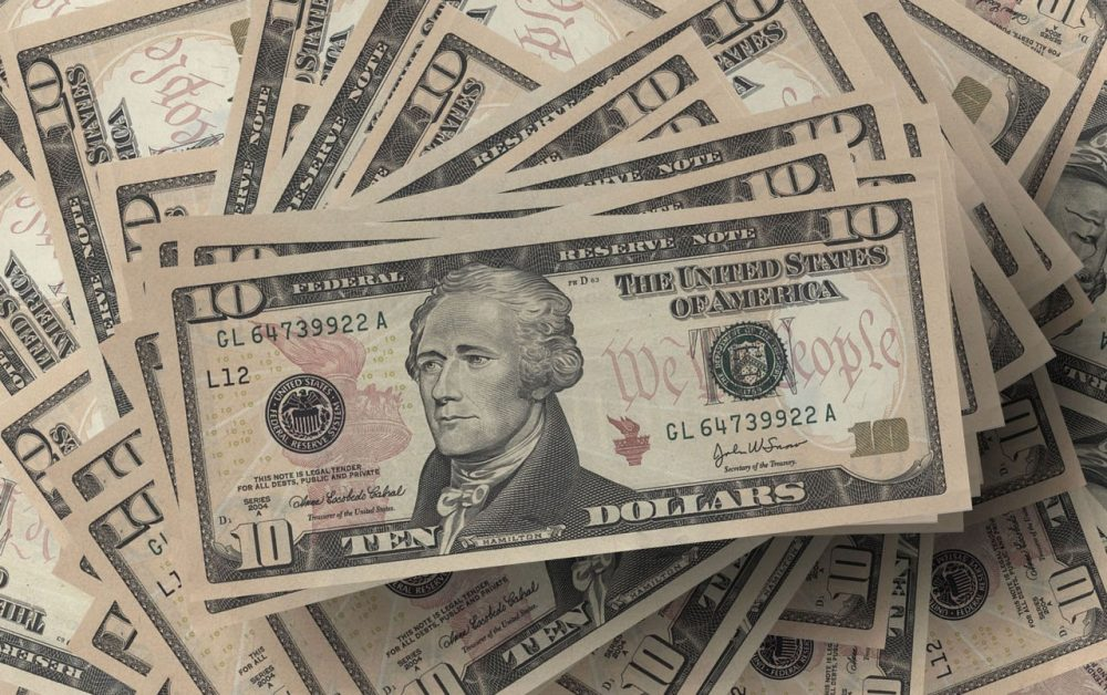 """Plans to feature a woman on the $10 bill are in questions thanks to the success of the Broadway musical """"Hamilton."""" (Pixabay)"""