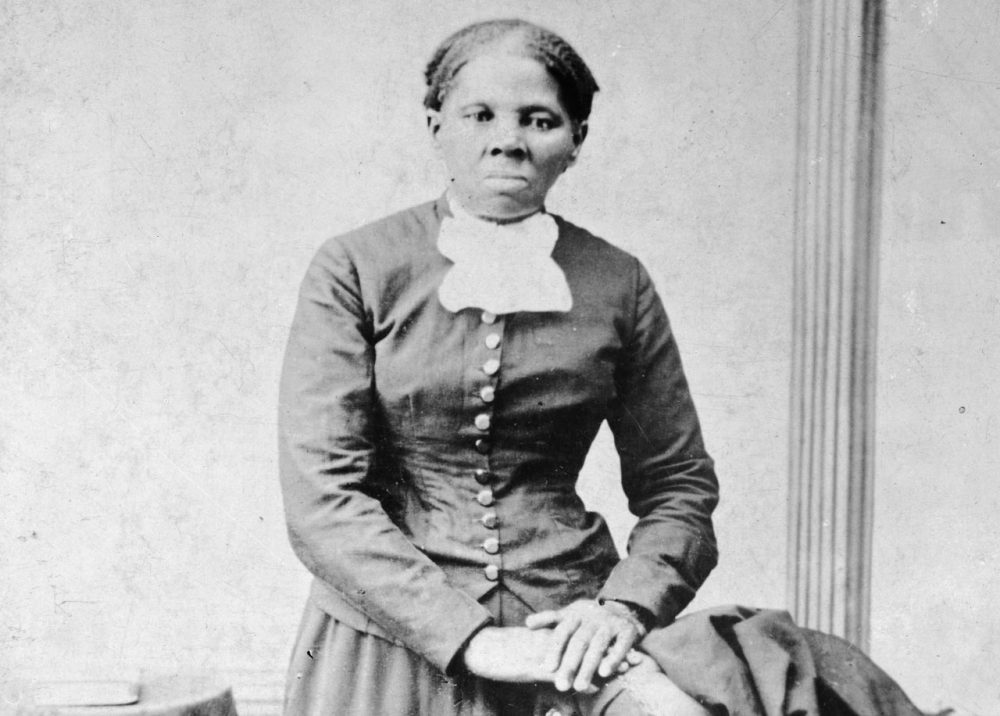 Image provided by the Library of Congress shows Harriet Tubman, between 1860 and 1875. (H.B. Lindsley/Library of Congress/AP)