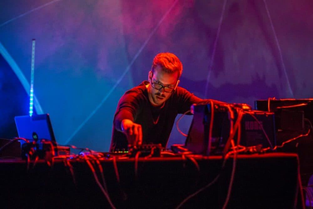 Benjamin Mørk performs at  Festspielhaus Hellerau and International Cities of Advanced Sound in 2015. (David Pinzer Fotografie via Facebook)