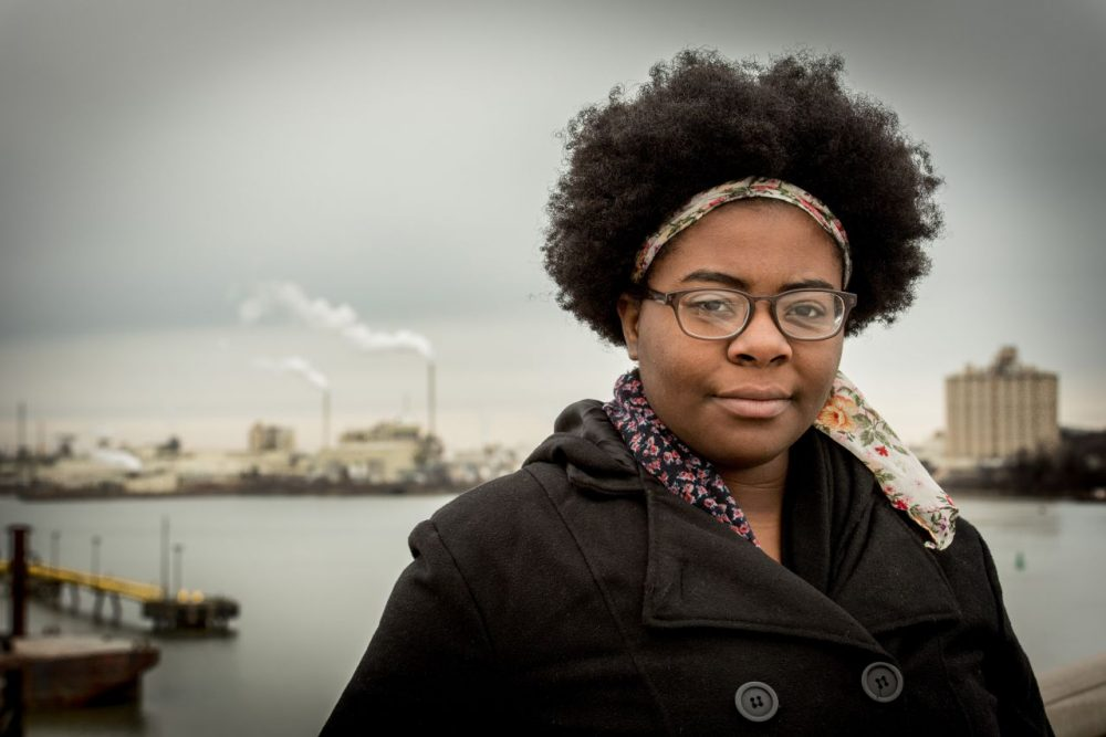 Destiny Watford, 2016 Goldman Environmental Prize winner for North America, inspired residents of a Baltimore neighborhood to defeat plans to build the nation's largest trash-burning incinerator less than a mile away from her high school. (Goldman Environmental Prize)