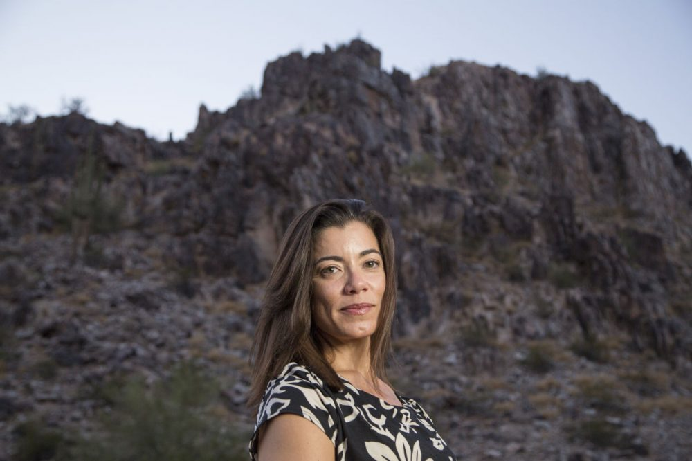 "Fernanda Santos, author of ""The Fire Line: The Story of the Granite Mountain Hotshots and One of the Deadliest Days in American Firefighting.""(Nick Oza)"