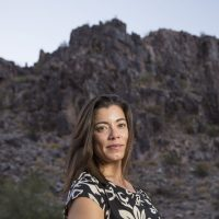 """Fernanda Santos, author of """"The Fire Line: The Story of the Granite Mountain Hotshots and One of the Deadliest Days in American Firefighting.""""(Nick Oza)"""