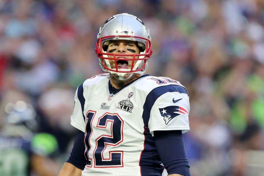 """The 2nd U.S. Circuit Court of Appeals ruled Monday that New England Patriots' quarterback Tom Brady must serve a four-game """"Deflategate"""" suspension imposed by the NFL. (Gregory Payan/AP)"""