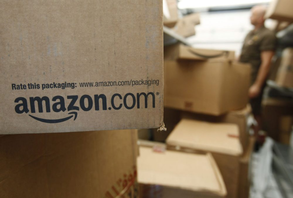After criticism of its gap in same-day delivery in Roxbury, Amazon announced it will now offer the service to all Boston ZIP codes. (Paul Sakuma/AP)