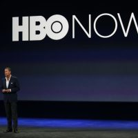 HBO CEO Richard Plepler speaks on stage during an Apple special event at the Yerba Buena Center for the Arts on March 9, 2015 in San Francisco, California. (Stephen Lam/Getty Images)