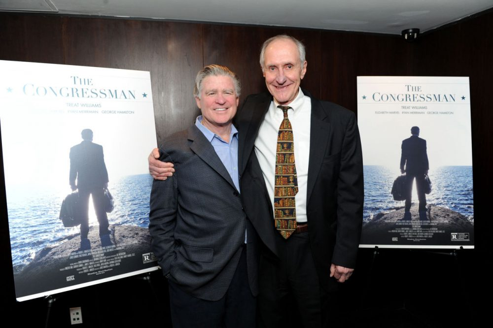"Treat Williams and Robert Mrazek attend a special screening of ""The Congressman"" at The Bryant Park Hotel on April 27, 2016 in New York City.  (Craig Barritt/Getty Images for The Congressman)"