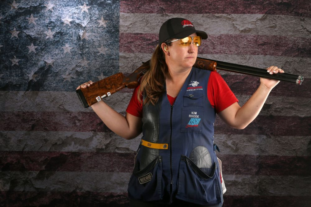 The WSJ's Kevin Hellicker says shooting is the third largest contributor to the United States' Olympic gold medal count. Did you know that? (Sean M. Haffey/Getty Images)