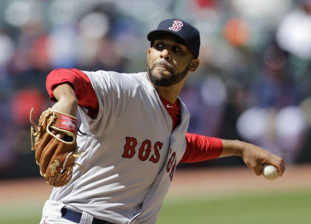 Boston Red Sox starting pitcher David Price. (Tony Dejak/AP)