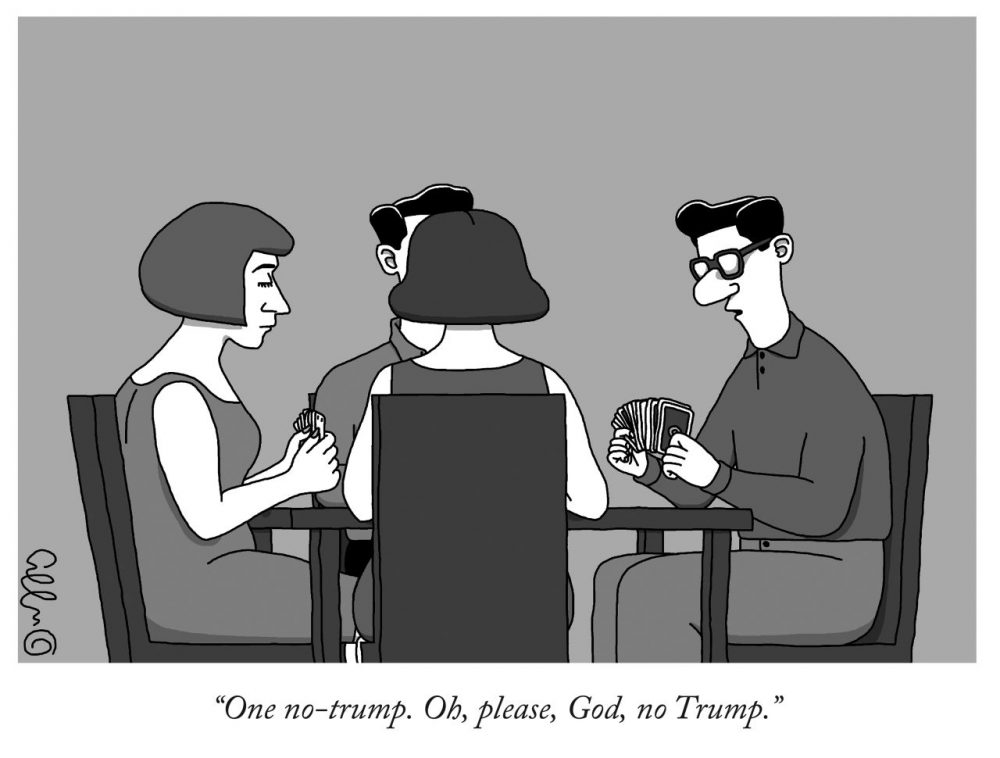 The New Yorker Cartoon Editor Goes Full Donald With Trump Only Issue Here Now