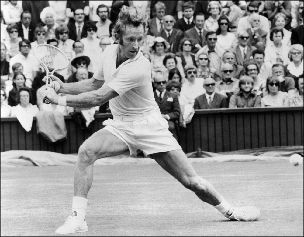 In 1962, Australian tennis player Rod Laver won all four Grand Slam events. And that was before he turned pro.(AFP/AFP/Getty Images)