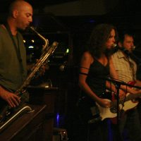 Twineman performs at Atwood's Tavern in 2006. (Courtesy of Tom Baran)