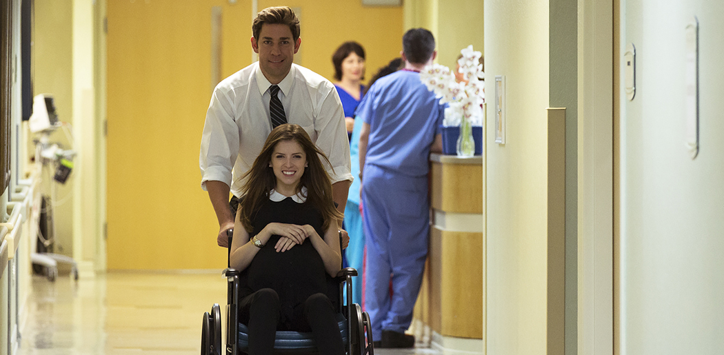 """John Krasinski, pictured here with Anna Kendrick, directed and stars in """"The Hollars,"""" which opens the Independent Film Festival Boston. (Courtesy IFFBoston)"""
