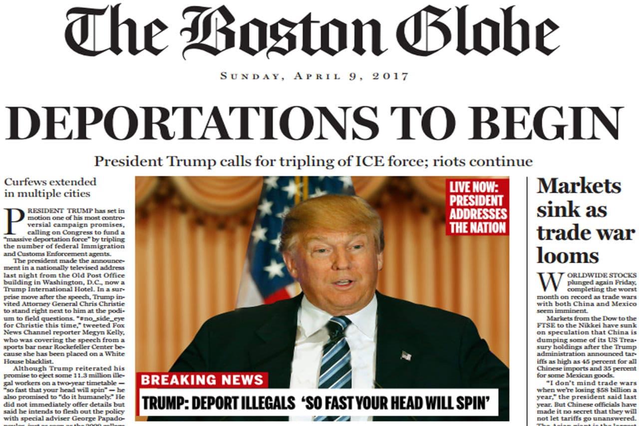The Boston Globe Imagines