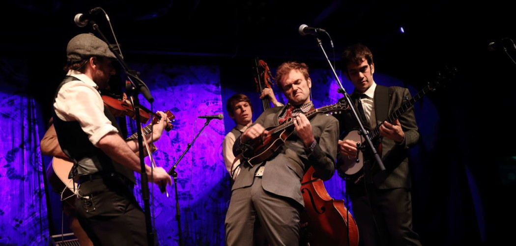 Punch Brothers at Suwannee Springfest 2014. (John Davisson/Invision/AP)